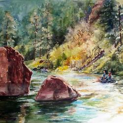 Autumn Float on the Green River - NFS